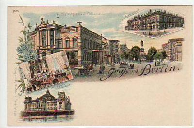 Berlin Mitte Litho ca 1900