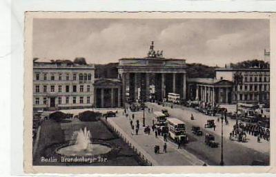 Berlin Mitte Brandenburger Tor ca 1940
