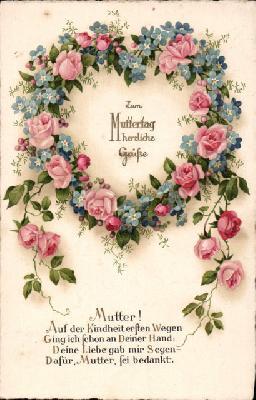 Muttertag Blumen Sprüche Veikkos Archiv