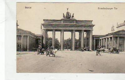Berlin Mitte Brandenburger Tor 1917