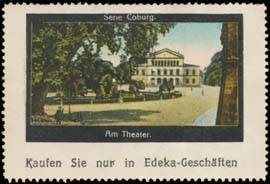 Am Theater in Coburg