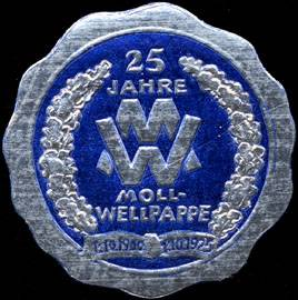 25 Jahre Moll - Wellpappe