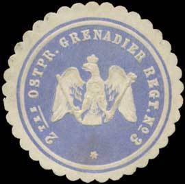 2tes Ostpreussisches Grenadier Regiment No. 3