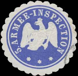 5. Armee-Inspection