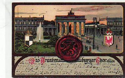 Berlin Mitte Brandenburger Tor 1900