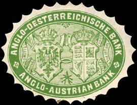 Anglo - Oesterreichische Bank - Anglo - Austrian Bank