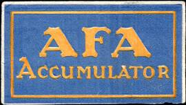 AFA Accumulator