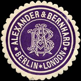 Alexander & Bernhard - Berlin - London