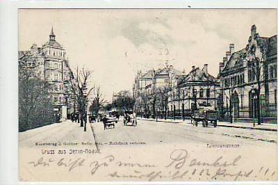 Berlin Moabit Tiergarten Rathenowerstrasse 1906
