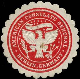American Consulate General - Berlin, Germany