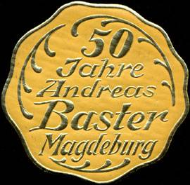 50 Jahre Andreas Baster