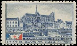 Amiens Cathedrale Cote Nord