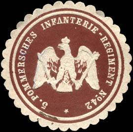 5. Pommersches Infanterie - Regiment No. 42