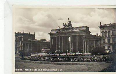 Berlin Mitte Brandenburger Tor 1930