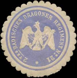 2. Badisches Dragoner Regiment No. 21