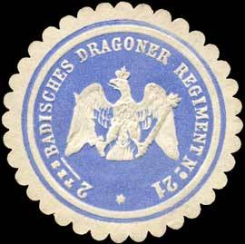 2tes Badisches Dragoner Regiment No. 21