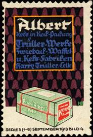 Albert Keks in Keil - Packung
