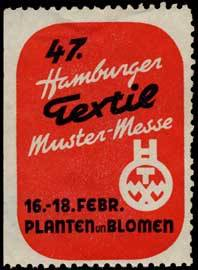47. Hamburger Textil Muster-Messe