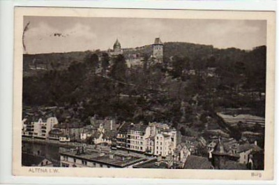 Altena in Westfalen 1920