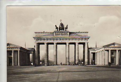 Berlin Mitte Brandenburger Tor 1959