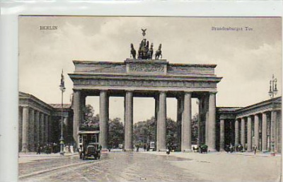 Berlin Mitte Brandenburger Tor 1912