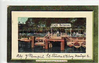berlin lichtenberg cafe bellevue am rummelsburger see 1915 veikkos archiv. Black Bedroom Furniture Sets. Home Design Ideas