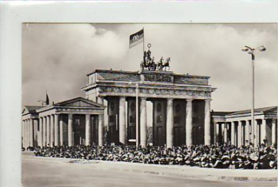 Berlin Mitte Brandenburger Tor 1966