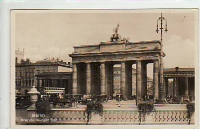 Berlin Mitte Brandenburger Tor 1935