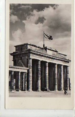 Berlin Mitte Brandenburger Tor 1954