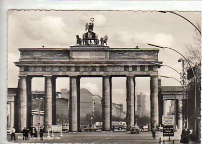 Berlin Mitte Brandenburger Tor 1961