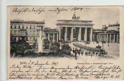 Berlin Mitte Brandenburger Tor 1903