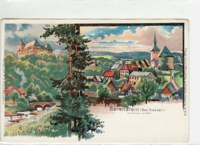 Altenberg-Bärenstein Litho ca 1900