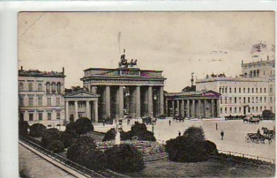 Berlin Mitte Brandenburger Tor 1913