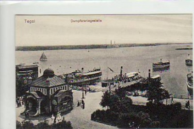 Berlin Tegel Dampfer ca 1915