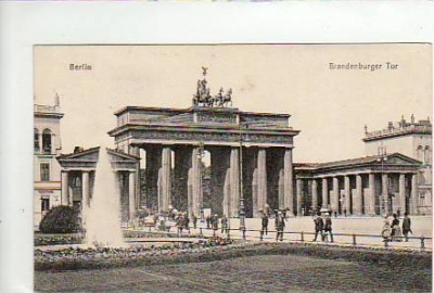 Berlin Mitte Brandenburger Tor 1918
