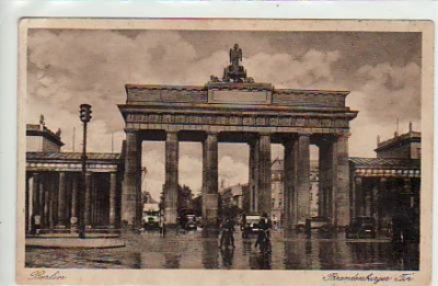 Berlin Mitte Brandenburger Tor ca 1920